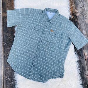 Orvis short sleeve outdoor button up